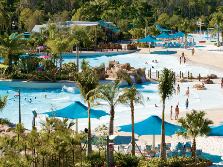 Cutback Cove & Big Surf Shores - Photo by Aquatica, SeaWorld's Waterpark