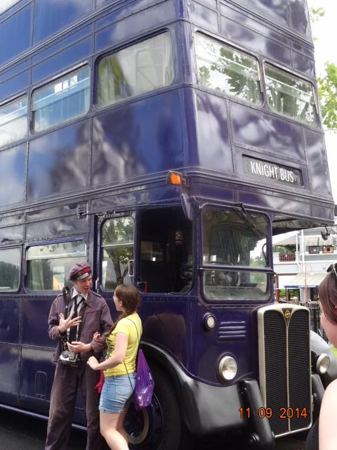 The Knight Bus - Harry Potter Universal