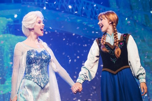 Frozen sing-along.  Photo by Chloe Rice