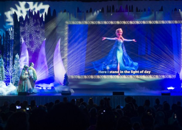 """""""For The First Time in Forever: A 'Frozen' Sing-Along Celebration"""" at Disney's Hollywood Studios - Photo by Charlie Champagne"""