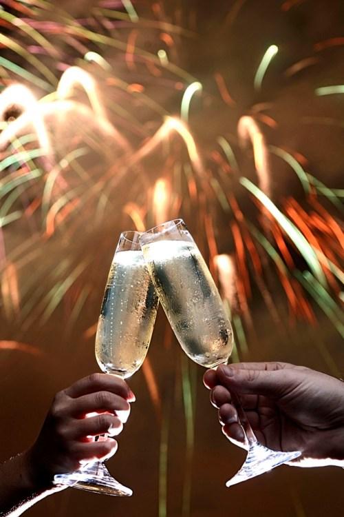TOASTING THE NEW YEAR - Photo by Diana Zalucky/Disney Parks