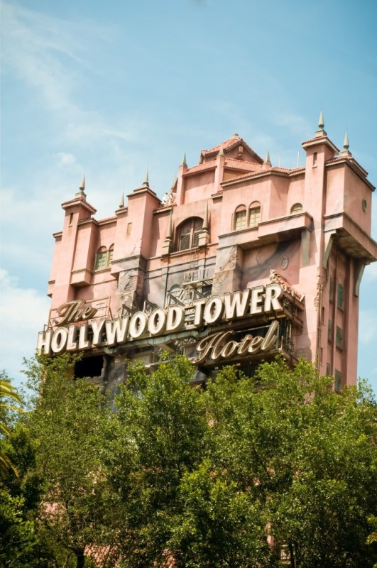 The Tower of Terror at Disney's Hollywood Studios