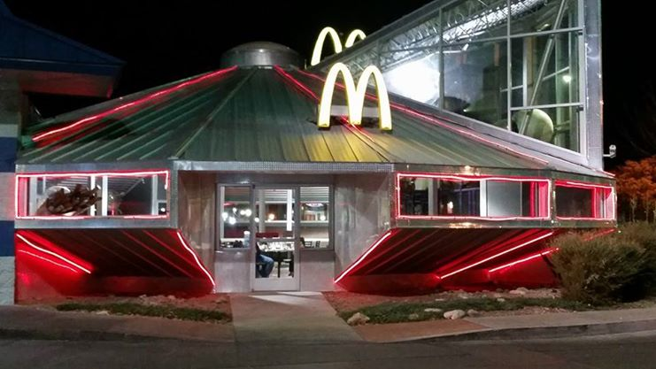 UFO McDonald's in Roswell, NM