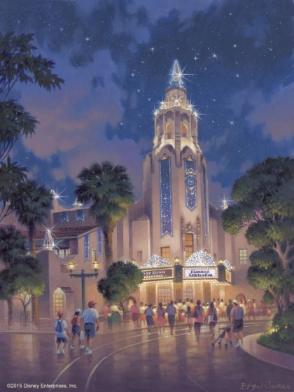 Carthay Circle Theatre Artist Rendering