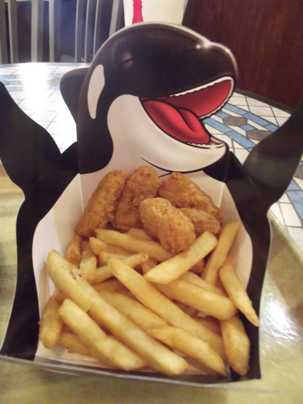 Kid's Chicken Nugget Meal SeaWorld Orlando