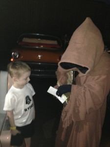 Star Wars Breakfast- trading with Jawa