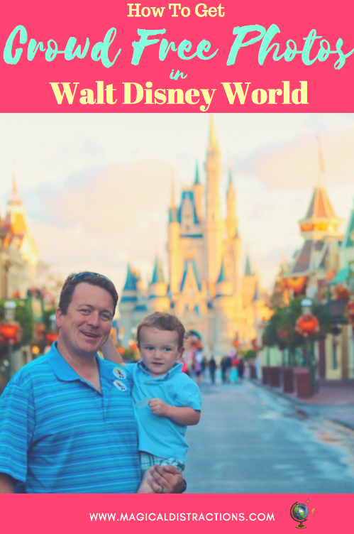 Learn how to get Crowd-Free Photos in Disney.