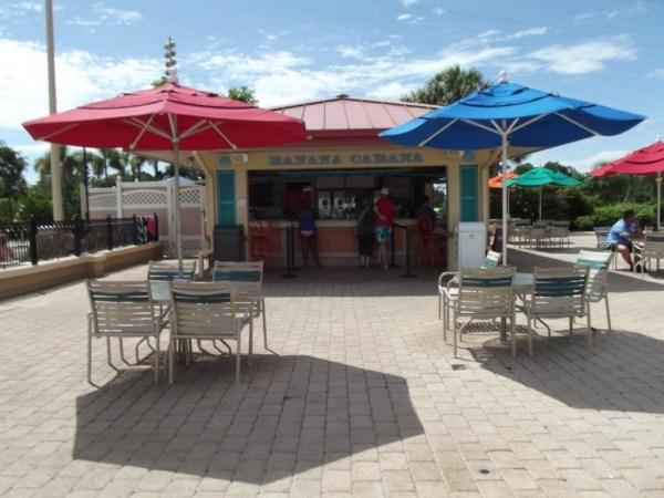 Banana Cabana Pool Bar at Caribbean Beach Resort-Picture by Lisa McBride
