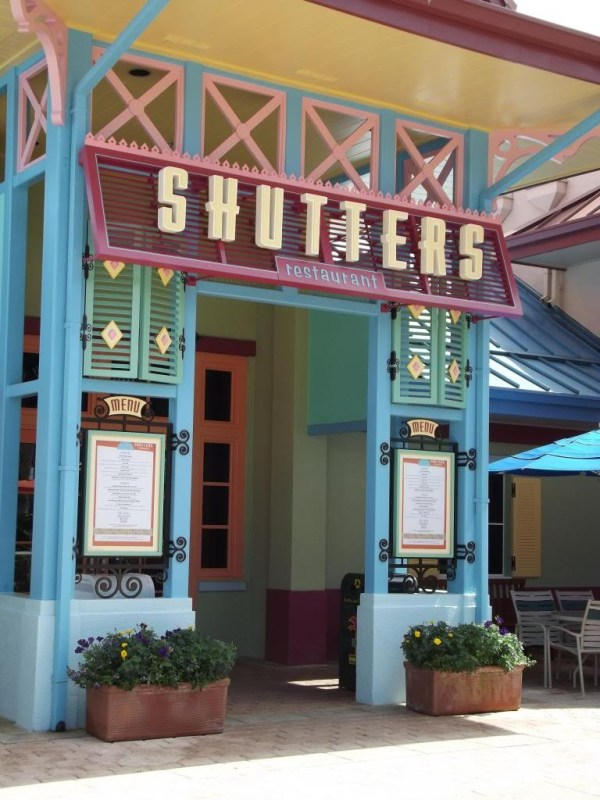 Shutters at Old Port Royale at Caribbean Beach Resort-Picture by Lisa McBride