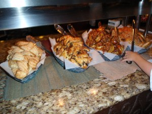 Pastry options at Boma Breakfast