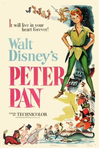 Peter Pan movie poster 1953