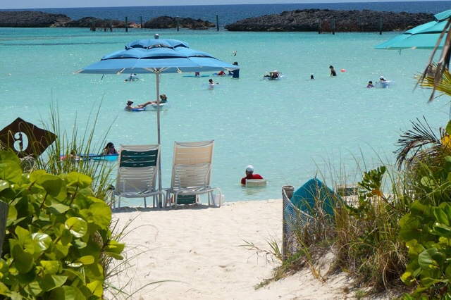 Castaway Cay Private Cabana private beach