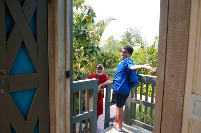 Castaway Cay Private Cabana entrance