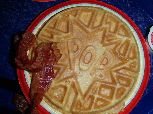 Pop Century waffles