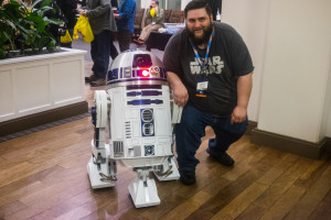 Justin and R2D2