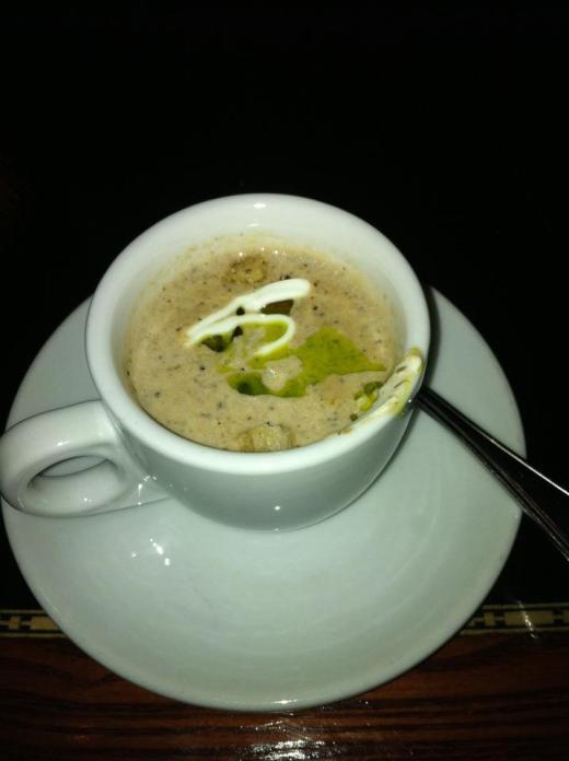 WDW Artist Point - smoked portabello soup