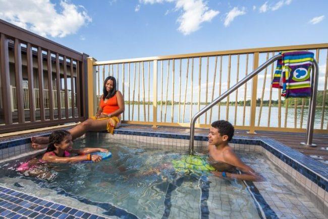 Bungalow Pools - Image by Matt Stroshane/Disney