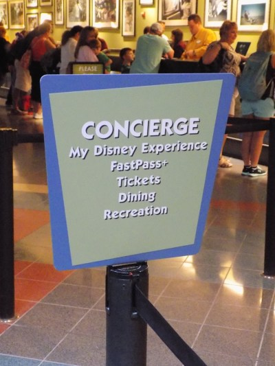 Disney's Pop Century Resort Guest Services Desk
