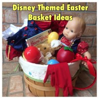 Disney Themed Easter Basket Ideas