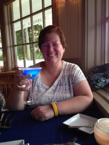 Glow-tini at Narcoossee's in Disney's Grand Floridian