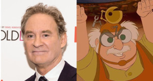 Kevin Kline, actor, portraying Maurice in Beauty and the Beast