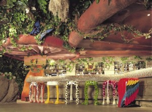 Rainforest Cafe Stools