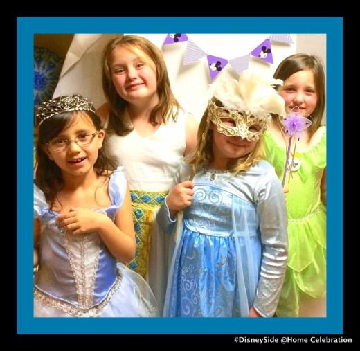 Cinderella, Megara, Elsa & Tinkerbell