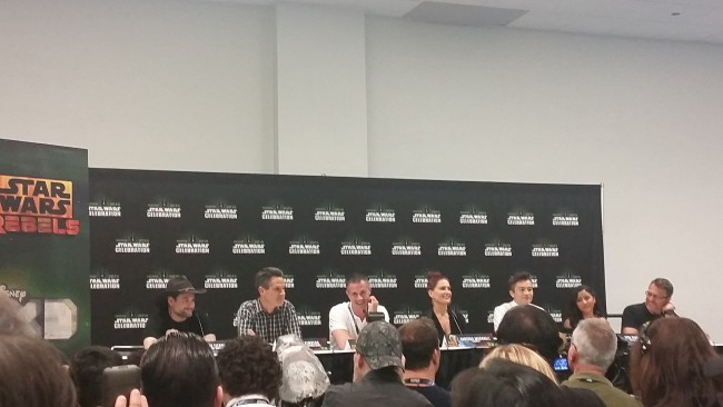 Star Wars Rebels Press Conference