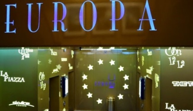 Europa Sign on the Disney Fantasy