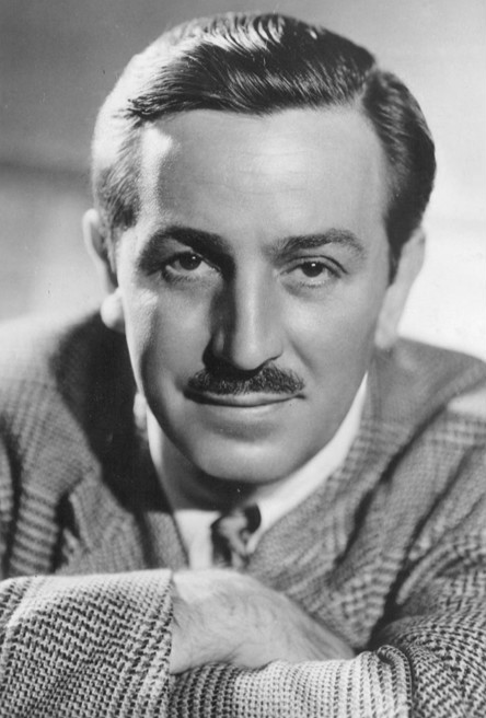 Publicity photo of Walt Disney from the Boy Scouts of America. Disney was given an award by them in 1946.