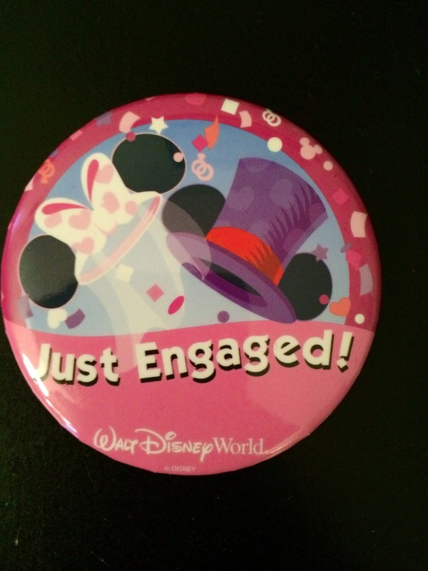 Just Engaged! Pins