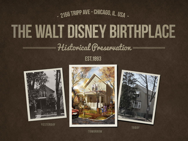 Photo Courtsey of Walt Disney Restoration Birthplace