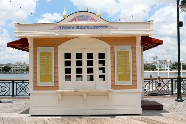 Disney's BoardWalk Inn and Villas, Dining, Tasty Sensations Funnel Cakes