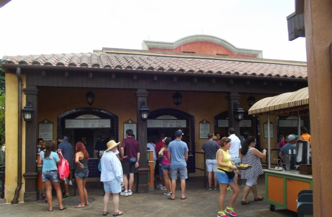 La Cantina Restaurant in the Mexico Pavilion at Epcot-Picture by Lisa McBride