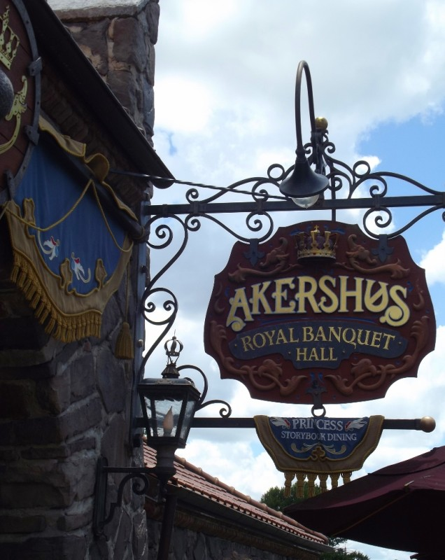 Akershus Royal Banquet Hall in the Norway Pavilion at Epcot-Picture by Lisa McBride