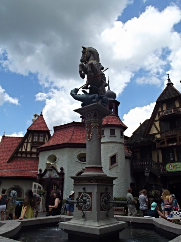 Germany Pavilion in Epcot-Picture by Lisa McBride