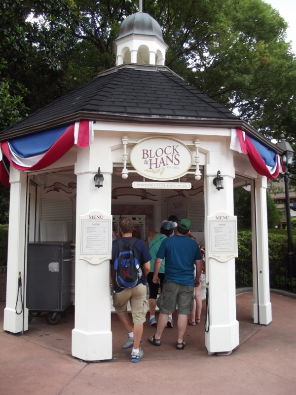Block & Hans American Adventure Pavilion at Epcot-Picture by Lisa McBride
