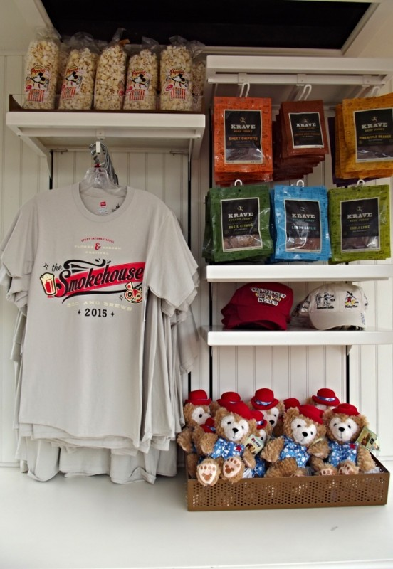 Merchandise for sale in the American Pavilion at Epcot-Picture by Lisa McBride