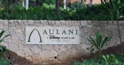 Aulani sign