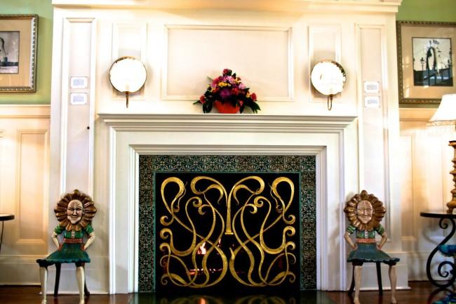 BoardWalk Inn Fireplace