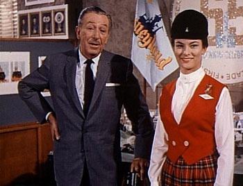 Julie Reihm Casaletto with Walt Disney