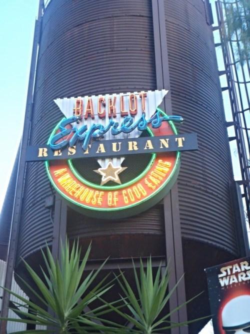 Backlot Express at Hollywood Studios-Picture by Lisa McBride