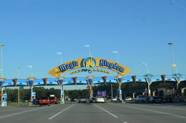 Magic Kingdom Toll gate