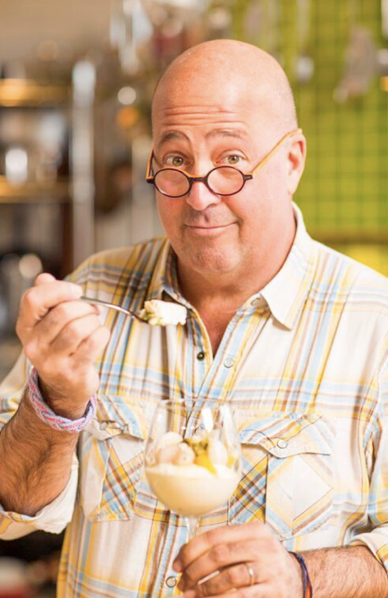 """Andrew Zimmern (host of the Travel Channel's """"Bizarre Foods"""")"""