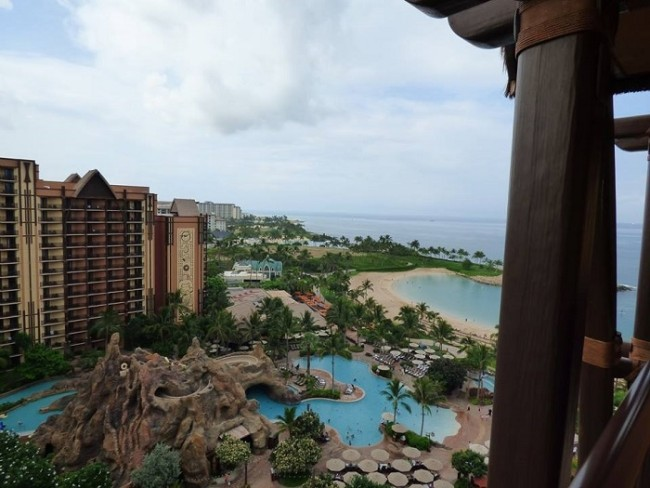 Oceanview Villa at Aulani