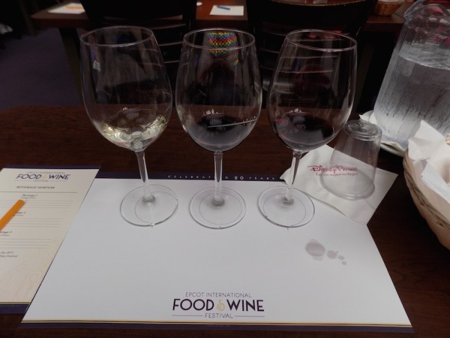 Epcot Food & Wine 2015, Beverage Seminar