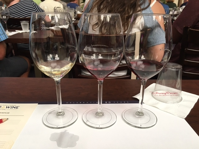 Wine Tasting at Epcot International Food and Wine Festival 2015