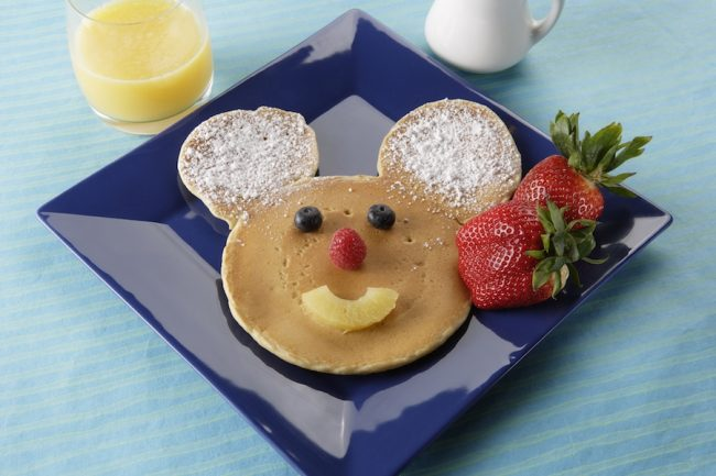 """Mickey Mouse Pancakes"", Riverbelle Terrace, Disneyland Park Photo Courtesy of Disney Parks Blog"