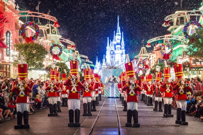 Mickey's Once Upon a Christmastime Parade-Photo Credit Disney Parks blog