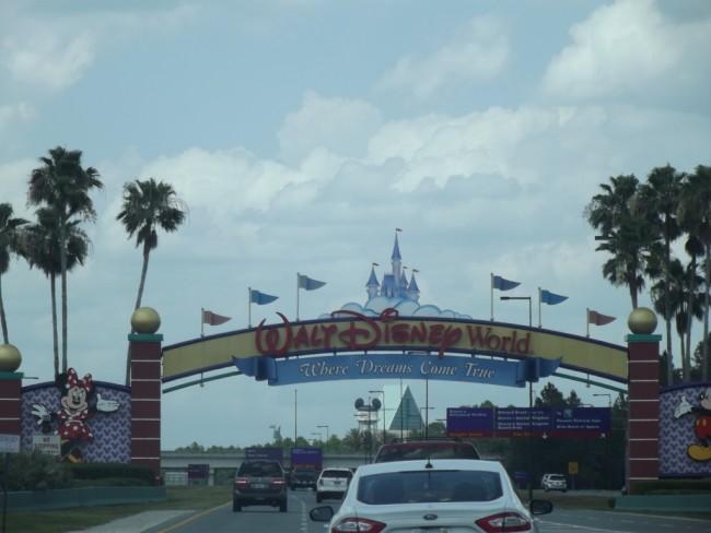 Walt Disney World Resort Entrance Sign-Photo by Lisa McBride